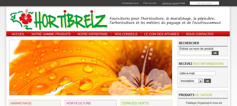 Création d'e-commerce